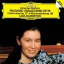 Other - リーリャ・ジルベルシュテイン/ブラームス:パガニーニの主題による変奏曲 3つの間奏曲/6つの小品 【CD】