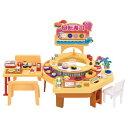 リカちゃんくるくる回転寿司おもちゃ こども 子供 女の子 人形遊び ハウス
