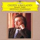 クリスチャン・ツィメルマン/ショパン:4つのバラード/舟歌/幻想曲 【CD】