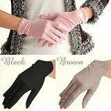 シルク100%UVカット手袋