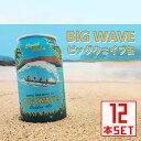 コナビール ビッグウェーヴ ゴールデンエール 缶355mlx12本 ハワイアンビール