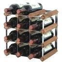 トラディショナルワインラック12本用ワインの収納に【お取り寄せ】