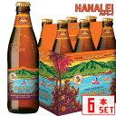 コナビールハナレイIPA瓶355mlx6本ハワイアンビール