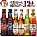【送料無料】ヨーロッパビール12本セット ドイツ イギ