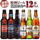 【送料無料】ヨーロッパビール12本セットドイツイギリスチェコ銘醸6種を飲み比べ(輸入ビール)