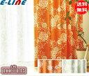 スミノエ V1251 V1252 ハナカザリ カーテン 1枚 100×135 各色「送料無料」