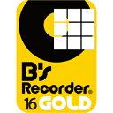 【35分でお届け】B's Recorder GOLD16 ダウンロード版 【ソースネクスト】