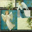 【手芸用品】【15:00迄の注文は当日発送】【デコパージュ】 ペーパーナフキン xmas・Angels of Love