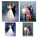 【送料無料】写真からの油絵制作人物(肖像画) 1〜2人【F4号】
