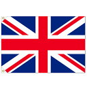 【万国旗・世界の国旗】イギリス国旗(135cm幅/エクスラン)