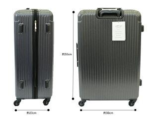 鏡面カーボン仕上げ超軽量スーツケースキャリーケースビジネストロリーTSAロック搭載容量35LSサイズ