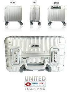 ★スーツケース★アルミ製★耐久性に優れたジュラルミン製スーツケース★機内持込可