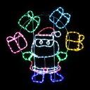 LEDチューブライト サンタ&プレゼントボックス ★クリスマス イルミネーション
