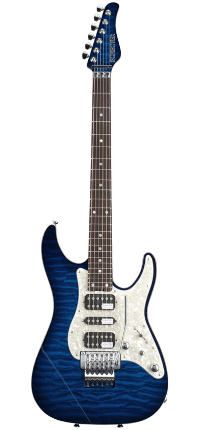SCHECTER SD-DX-24-AS / BLSB 【素晴らしい】