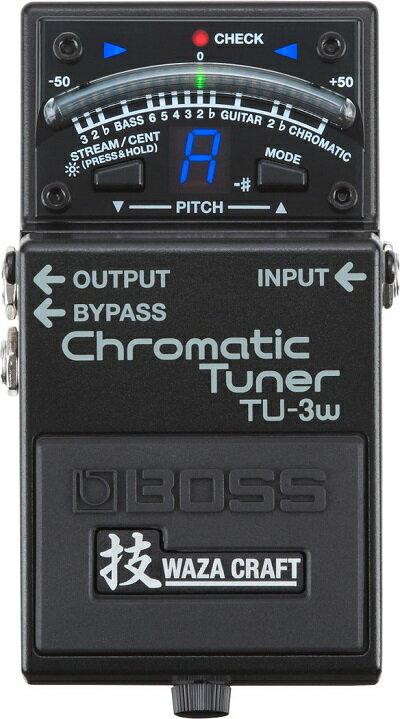 【即納可能】BOSS / TU-3W  Chromatic Tuner