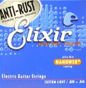 Elixir Electric Guitar Strings NANOWEB CUSTOM LIGHT 9-46