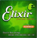 Elixir BASS NANOWEBMEDIUM X-LONG