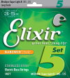 Elixir Electric Bass Stainless Steel NANOWEB Coating 5-String Medium w/Super Light B/Long Scale 14877