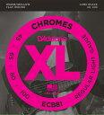 D'Addario ECB81 / XL Chromes Flat Wound