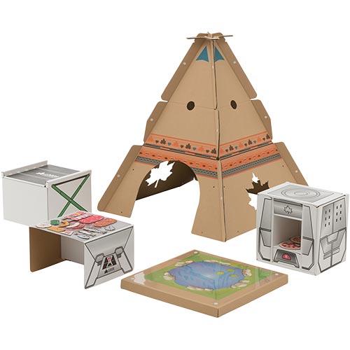 ロゴス キャンプごっこクラフトデスク