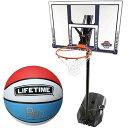 【特殊送料】ライフタイム LIFE TIME バスケットゴール LT-90001 5号ボールセット