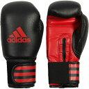 アディダス adidas パワー Power 100 ビギナー用 トレーニング ボクシング グローブ 6オンス ブラック ADIPBG100-BK-6