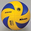 MIKASA(ミカサ) バレーボール試合球 5号 MVA300 黄/青 【バレーボール 5号球】【検定球、国際公認球】