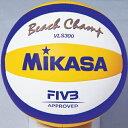 ミカサ MIKASA ビーチバレーボール VLS300 白/...