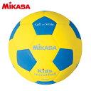 ミカサ(MIKASA) キッズサッカー 軽量 4号球 青/黄 SF4-YBL 【EVA素材 ジュニア】