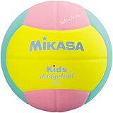 MIKASA(ミカサ) ドッジボール スマイルドッジボール2號 キッズ用 SD20-YP 【ドッヂボール 2號 小學生用】