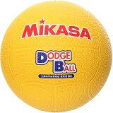 MIKASA MIKASA 教育用投球戲2號D2 Y 【投球戲 2號小學生用】【RCP】[ミカサ MIKASA 教育用ドッジボール2號 D2 Y 【 ドッジボール 2號 小學生用 】【RCP】]