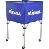 【】 ミカサ MIKASA ボールカゴ フレーム・幕体・キャリーケース3点セット BC-SP-H BL 【 ボールカゴ ボールケース 】【RCP】