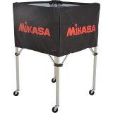 【】MIKASA(ミカサ) ボールカゴ フレーム・幕体・キャリーケース3点セット BC-SP-H BK 【ボールカゴ ボールケース】