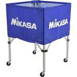 【】 ミカサ MIKASA ボールカゴ フレーム・幕体・キャリーケース3点セット BC-SP-S BL 【 ボールカゴ ボールケース 】【RCP】