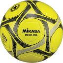 ミカサ MIKASA サッカー 4号 手縫い 検定球 黄/黒 MC451-YBK