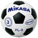 ミカサ MIKASA ジュニア用 FL3-WBK 白黒 ジュニアサッカーボール3号