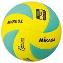 ミカサ(MIKASA) 混合バレー試合球 MVB001-GY 黄緑 5号 【バレーボール 5号球】