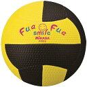 ミカサ MIKASA スマイルドッジ 縫い 約150g FFD2-YBK 黄黒 ふわふわドッジ2号