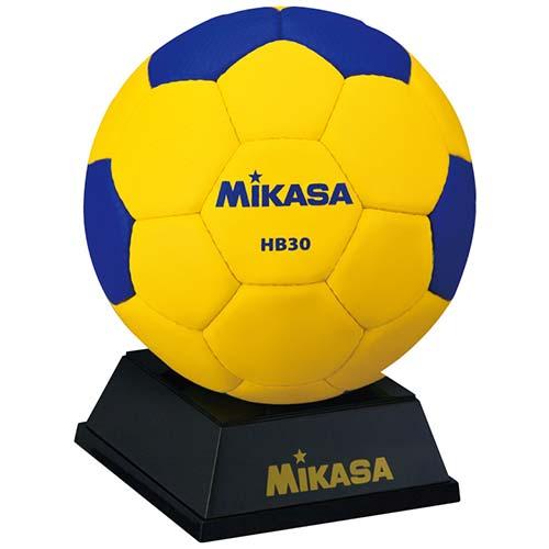 ミカサ MIKASA マスコットボール ハンド HB30 黄青