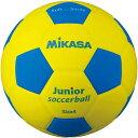 ミカサ MIKASA スマイルサッカーボール 軽量球 約180g 黄/青 SF4J-YBL