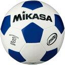 ミカサ(MIKASA) サッカーボール 軽量約250g 白/青 SVC303-WB 【サッカー 3号球 小学校用 低学年】