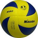 ミカサ(MIKASA) バレーボール MVA5 黄/青 5号球 【バレー トレーニング 練習球】