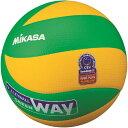 ミカサ(MIKASA) バレーボール 欧州連盟試合球 黄/緑 MVA200CEV 【バレーボール 5号球】【検定球、国際公認球】