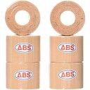 アメリカン ボウリング サービス ABS ABS フィッティングテープ F-2 50mm ベージュ 1ケース/6個入り 50mm×4m BG