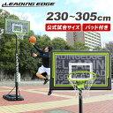 リーディングエッジ バスケットゴール 屋外 家庭用 ST LE-BS305ST
