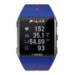 ポラール(Polar)V800GPS(心拍センサーなし)ブルー90048944【ランニングウォッチ腕時計トライアスロン活動量計】