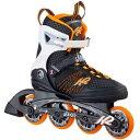 ケーツー K2 レディース インラインスケート ALEXIS 80 アレクシス 80 ブラック/オレンジ I160200401