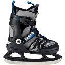ケーツー K2 ジュニア ボーイズ アイススケート フィギュアスケート スケート靴 RAIDER ICE グレー/ブラック I180300101 キッズ 男の子
