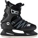 ケーツー K2 メンズ アイススケート フィギュアスケート スケート靴 F.I.T. ICE ブラック/グレー I180300301