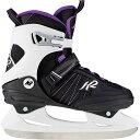 ケーツー K2 レディース アイススケート フィギュアスケート スケート靴 ALEXIS ICE ブラック / グレー / ラベンダー I180300401